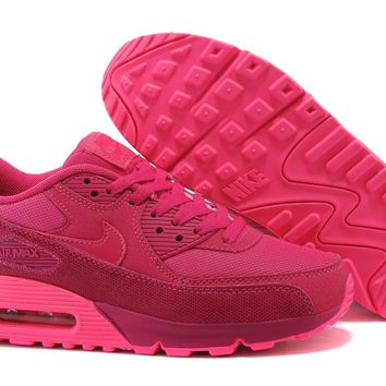 NIKE MAX 90 ESSENTIAL Breathable Women's Running Shoes Sneakers Tennis Shoes Women Winter Running Shoes Classic 36-39