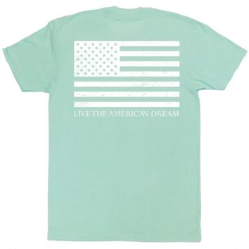 Mint 'Live the American Dream' Tee