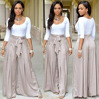 Echoine New 2 Piece Jumpsuit Fashion Women Long Sleeve With Belted Zipper Full Length Macacao Feminino Casual Overalls
