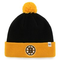 Toddler Boston Bruins '47 Brand Black Bam Bam Knit Beanie