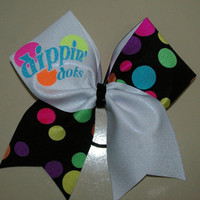 Dippin' Dots Cheer Bow