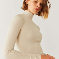 UO Leland Bodycon Turtleneck Top | Urban Outfitters