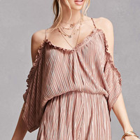 Honey Punch Pleated Romper