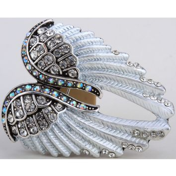 Guardian Angel - Angel Wings Brooch