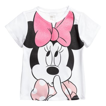H&M Jersey Top with Printed Design $5.99