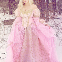 Sleeping Beauty Fantasy Fairy Princess Gown Costume In Stock Medium/Large SALE
