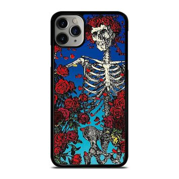 GRATEFUL DEAD SKULL AND ROSE iPhone Case Cover