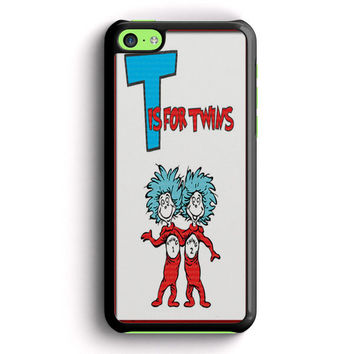 Thing 1 And Thing 2 iPhone 5C Case | Aneend