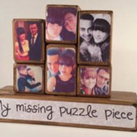 Photo Stacking Blocks / Photo Blocks - Love / Couple / Boyfriend / Girlfriend / Partner / Husband / Wife