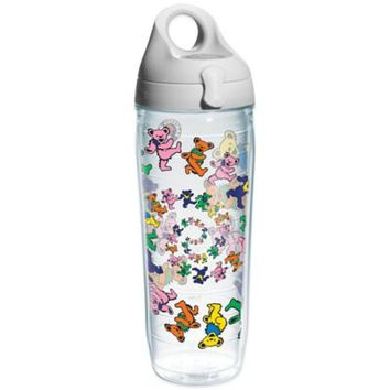 Tervis® Grateful Dead Dancing Bears Wrap 24 oz. Water Bottle with Lid
