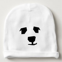 Movable Features Animal Face Baby Beanie