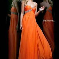 Sherri Hill 3912 Orange 4