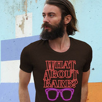 What About Barb American Apparel  Men's T Shirt