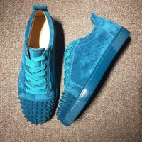 Cl Christian Louboutin Low Style #2000 Sneakers Fashion Shoes - Best Online Sale