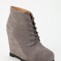 Urban Outfitters - Kimchi Blue Suede Lace-Up Ankle Boot
