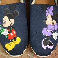 Mickey and Minnie Mouse Original Custom by SomethingFromTheSun
