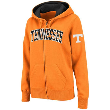Tennessee Volunteers Women's Classic Arch Full Zip Hooded Sweatshirt – Tennessee Orange