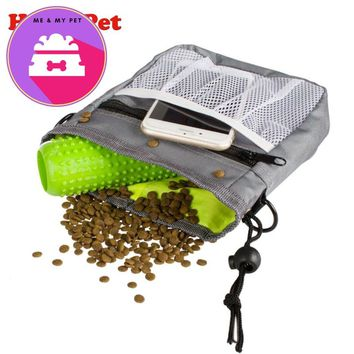 Pet Dog Training Treat Snack Bait Dog Obedience Agility Outdoor Pouch Food Bag Dogs Snack Bag Pack Pouch