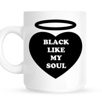 Black Like My Soul Mug