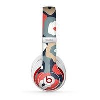 The Bulky Colorful Flowers Skin for the Beats by Dre Studio (2013+ Version) Headphones