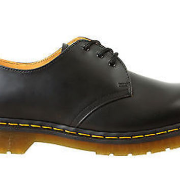 Dr Martens Mens Oxford Shoes 1461 Black Leather