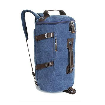 Canvas Drum Backpack