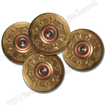 Shotgun Shells Coaster Set- neoprene for drinks.