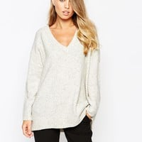 French Connection Flossy Knitted Jumper at asos.com