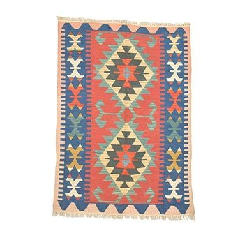 "Turkish Kilim Turkish 3' 10"" X 5' 5"" Handmade Rug"