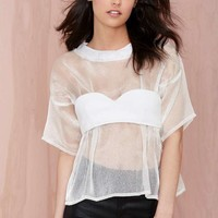 Maurie & Eve Perpetual Sheer Blouse