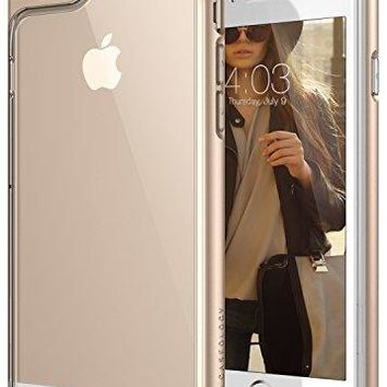iPhone 6S Case, Caseology [Skyfall Series] Scratch-Resistant Clear Back Cover [Gold] [Shock Absorbent] for Apple iPhone 6S (2015) & iPhone 6 (2014) - Gold
