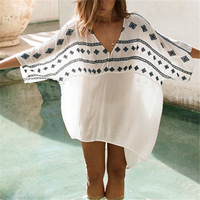 Beach Cover up Rayon Swimwear Ladies Beachwear Cover ups
