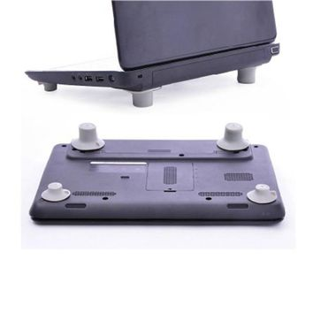 Factory Price Binmer Hot Selling 4pcs Notebook Accessory Laptop Heat Reduction Pad Cooling Feet Stand Holder Drop Shipping