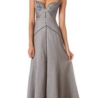 J. Mendel Full Skirt Bustier Gown | SHOPBOP