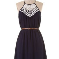 Fun Festivities Dress - Navy