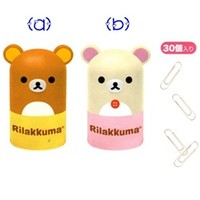 San-X Rilakkuma Jar with Paper Clips