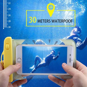 KISSCASE Waterproof Case For iPhone 6 7 Plus Samsung S7 S8 Huawei P8 P9 P10 Lite Redmi 4x Cases Silicone Underwater Phone Cover