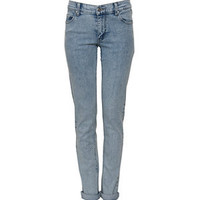 Cheap Monday 32in Blue Acid Wash Skinny Jeans