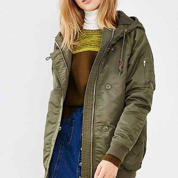 OBEY Ace Hooded Parka Jacket