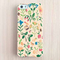 iPhone 6 Case, iPhone 6 Plus Case, iPhone 5S Case, iPhone 5 Case, iPhone 5C Case, iPhone 4S Case, iPhone 4 Case - Flowers and Birds