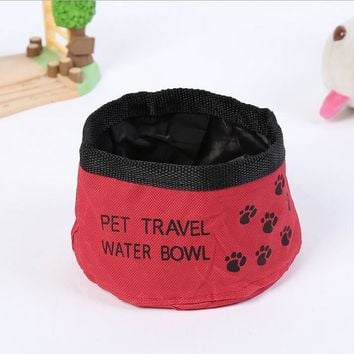 Port-A-Bowl Collapsible Dog Food/Water Bowl