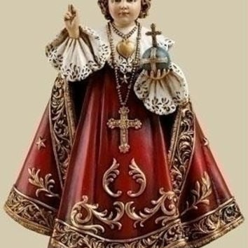 4 Infant Of Prague Figures - Individually Gift-boxed