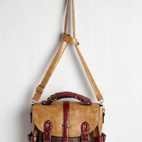 Authentically Academic Bag in Latte | Mod Retro Vintage Bags | ModCloth.com
