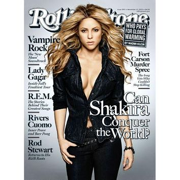 Shakira Poster Rolling Stone Cover 11 inch x 17 inch poster