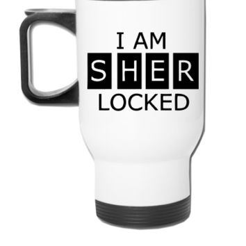 I Am SherLocked - Travel Mug
