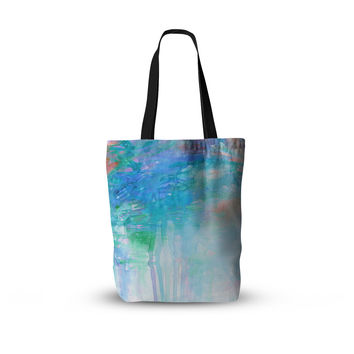 "Ebi Emporium ""Childlike Wonder"" Blue Pastel Everything Tote Bag"