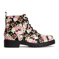 H&M Patterned Boots $34.95