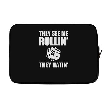 they see me rollin they hatin Laptop sleeve
