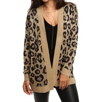 Sale- Leopard Wild Out Cardigan