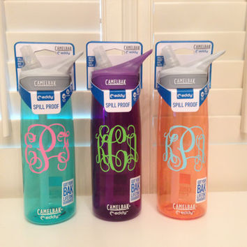 Monogrammed Camelbak Water Bottle NEW COLORS!! 25oz.